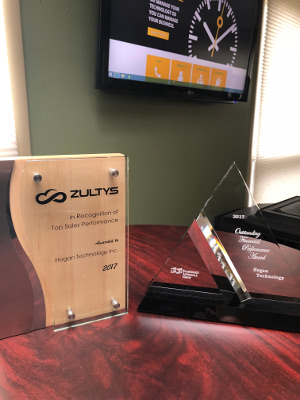 2017 Top Sales Performance from Zultys, Cloud Voice