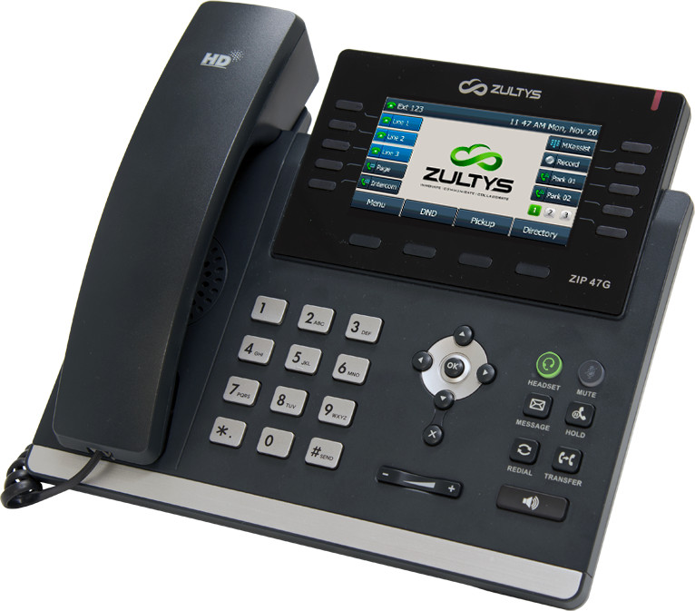 Zultys 47G IP Phone